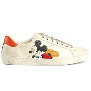 Giày Gucci ACE Mickey Mouse rep