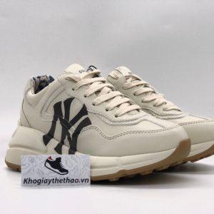 Giày Gucci Chunky NY trắng chữ đen Replica