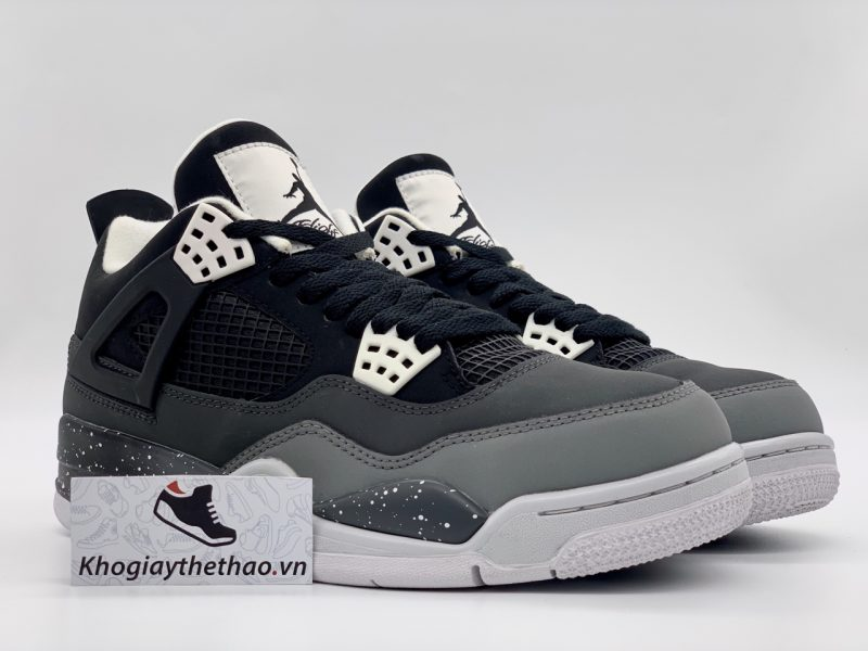 Giày Nike air Jordan 4 Retro Fear Pack rep