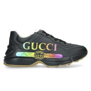 giày gucci rhyton black