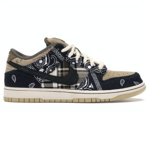 Giày Nike Travis Scott SB Dunk Low rep