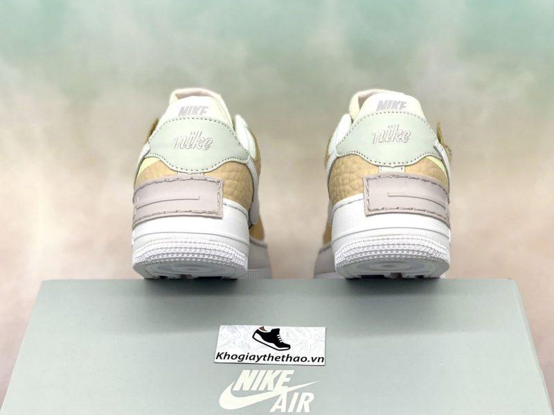 Giày Nike Air Force 1 Shadow 'Daisy - Hoa cúc' Spruce Aura Custom