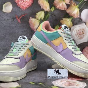 Giày Nike Air Force 1 Shadow 7 màu rep 1:1