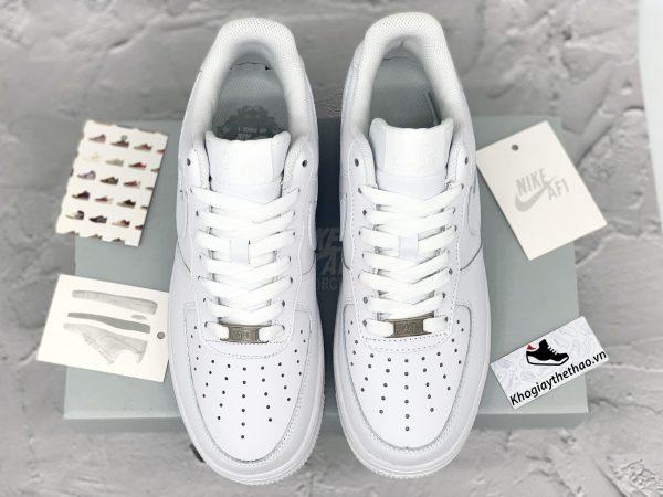 box giay Nike Air Force 1 trắng