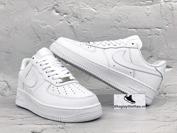 Giày Nike Air Force 1 full trắng