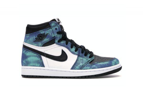Giày Nike air Jordan 1 High Tie Dye rep