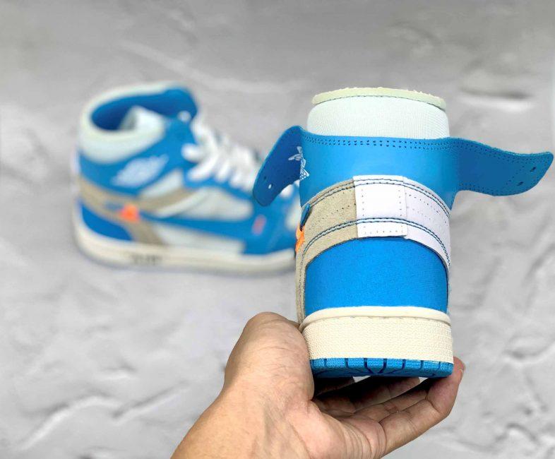 Giày Jordan 1 Off White Blue