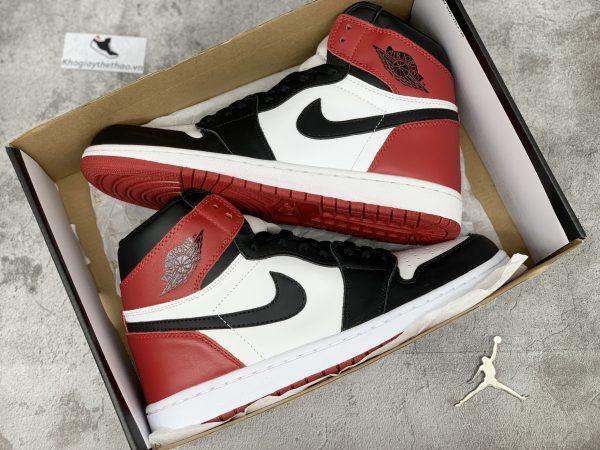 Nike Air Jordan 1 cổ cao Black Toe replica