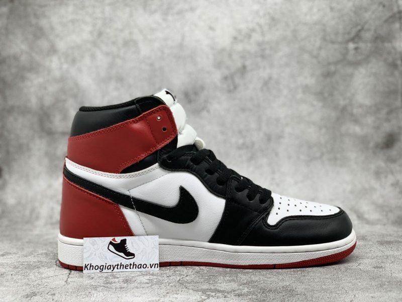 giày Air Jordan 1 Black Toe Rep 1:1