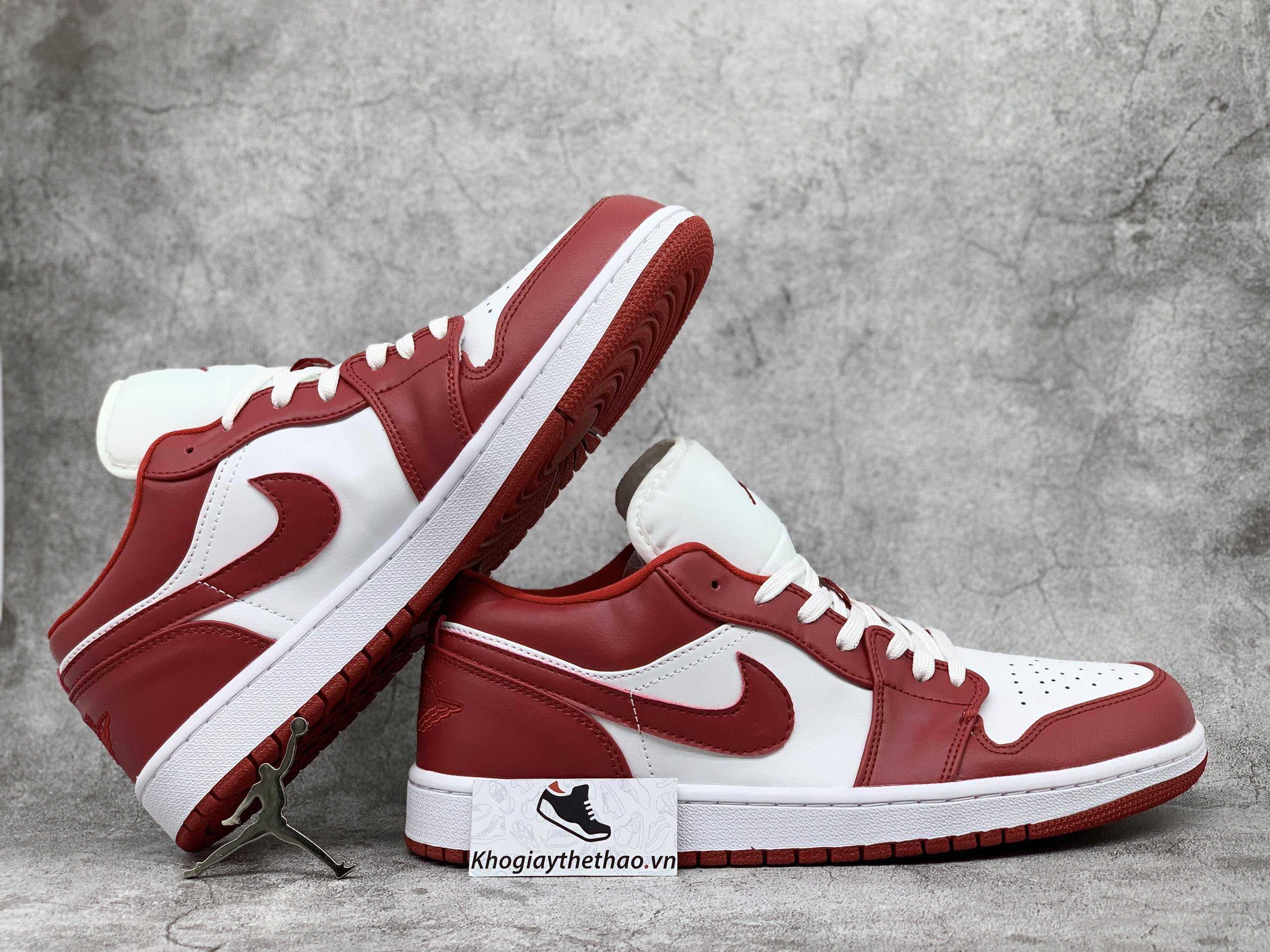 ảnh giày jordan 1 gym red replica 11 cố thấp