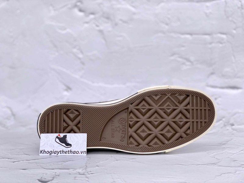 đế giày cv cao đen