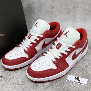 giày nike air jordan 1 low gym red