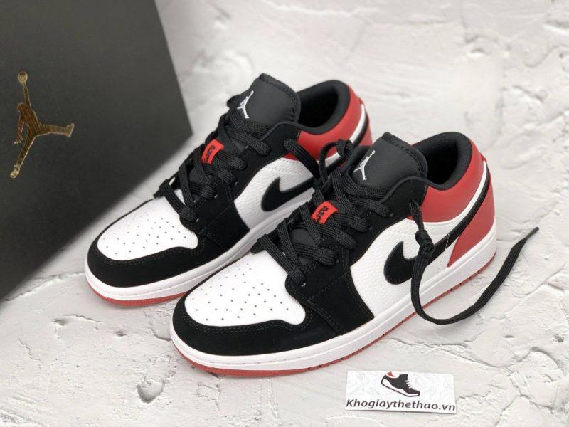 giày jordan 1 low black toe