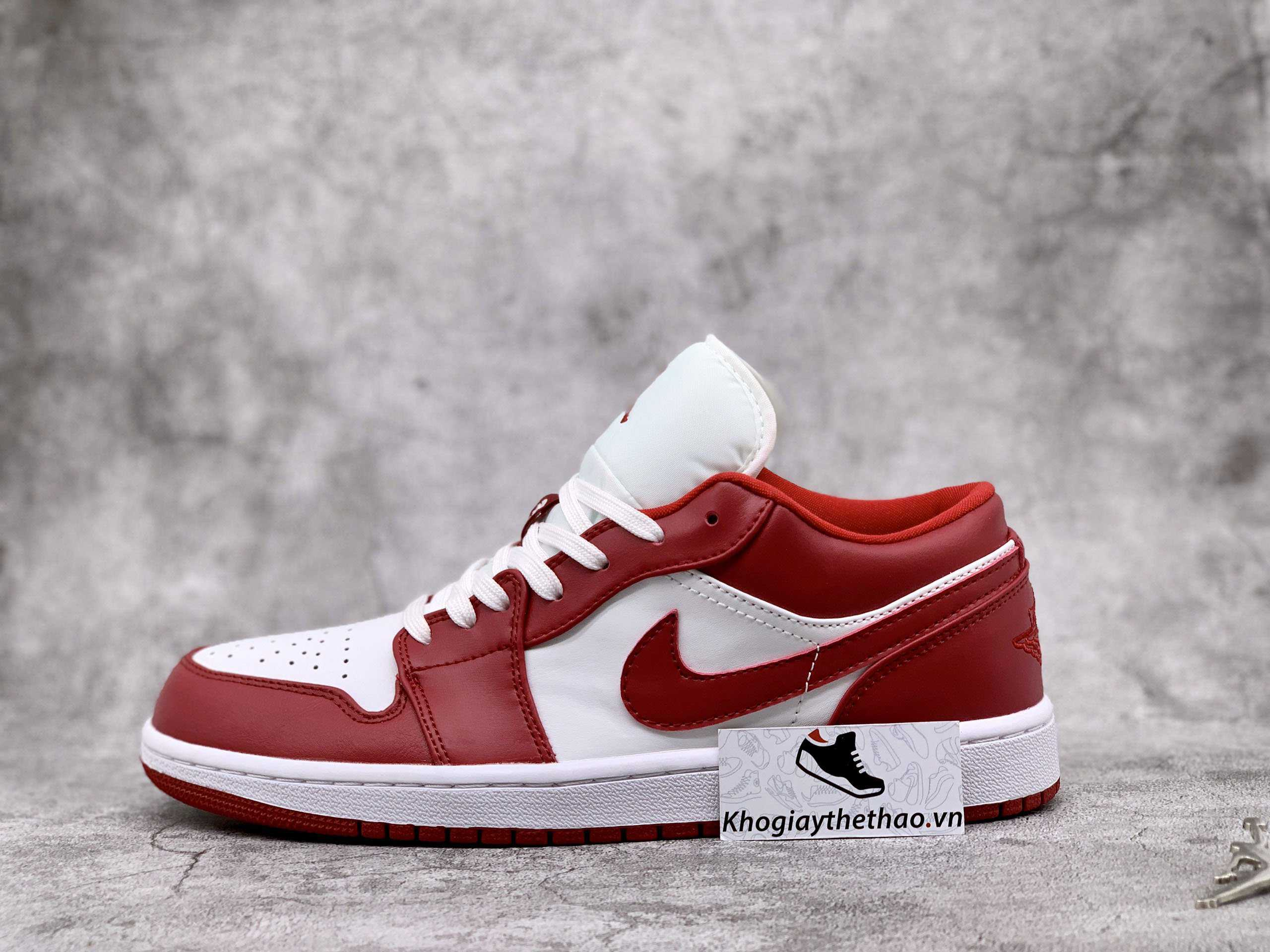 giày jordan low gym red thấp cổ