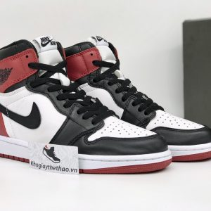 Nike Air Jordan 1 cổ cao Retro Black Toe rep super fake