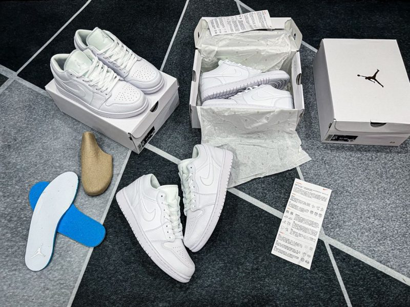 giày jordan 1 low trắng