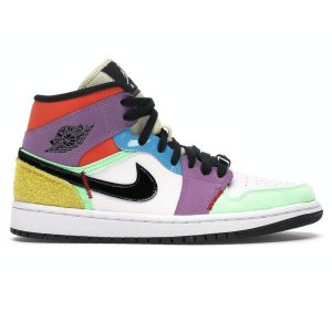 Nike Air Jordan 1 Mid SE Multi Color rep 1:1