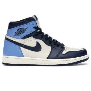 Nike Air Jordan 1 Retro High Obsidian UNC rep 1:1