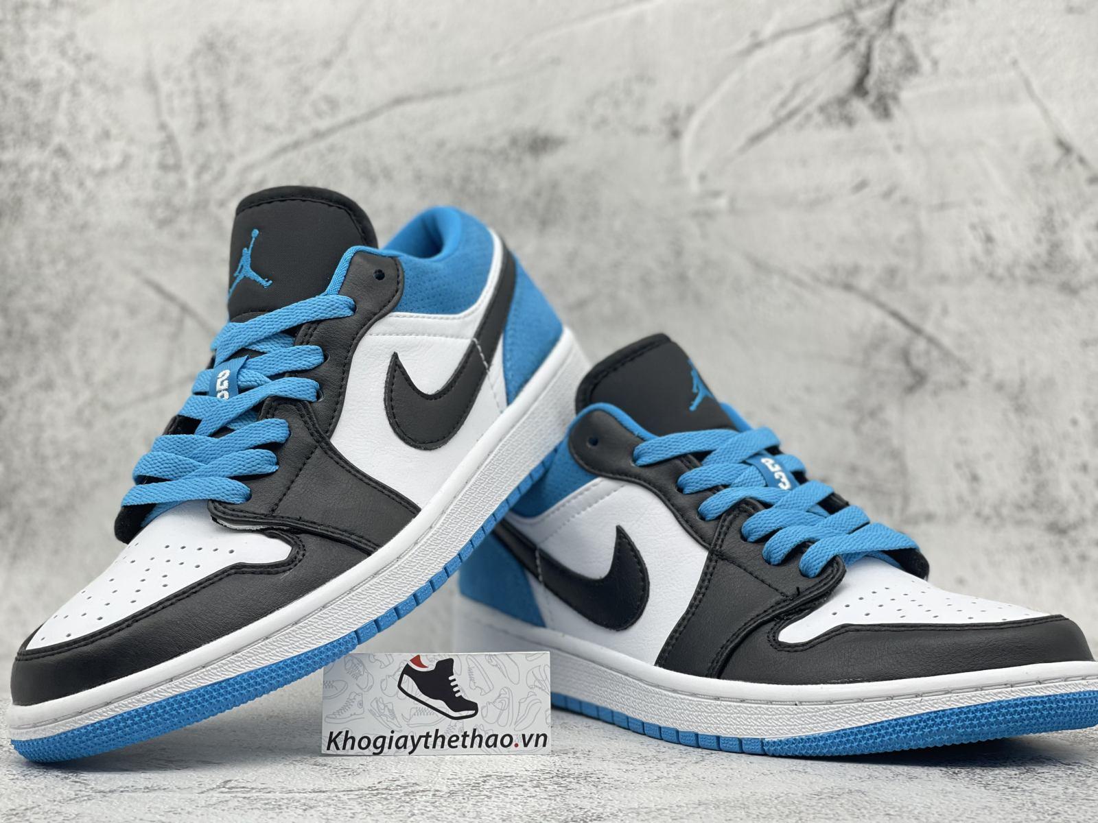 Giày Jordan 1 Low Laser Blue