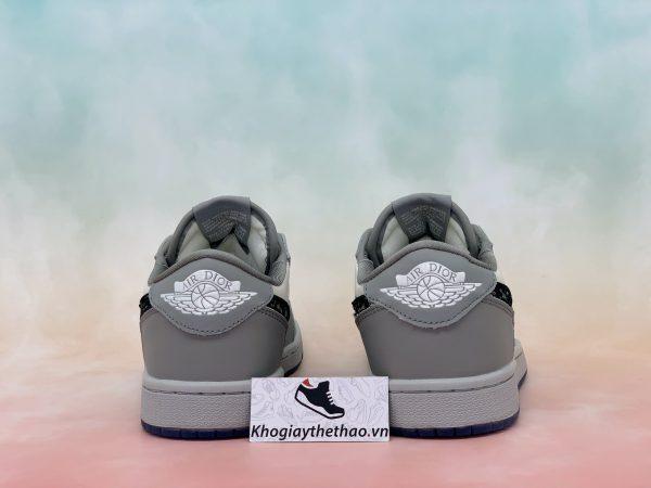 Gót giày Nike Air Jordan 1 Retro Low Dior
