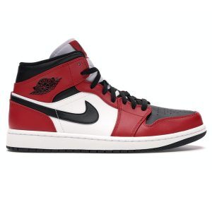Nike Air Jordan 1 Mid Chicago Toe rep 1:1