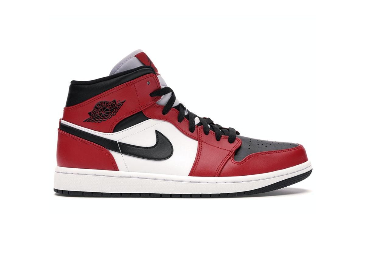 Nike Air Jordan 1 Mid Chicago Toe rep 1:1