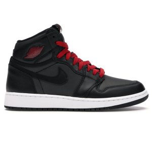 Nike Air Jordan 1 Retro High Black Gym Red Black