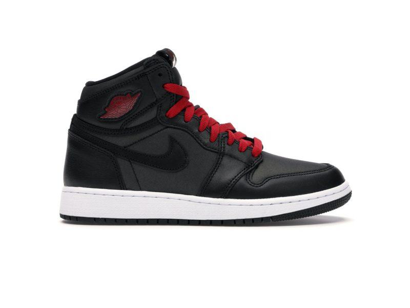 Nike Air Jordan 1 Retro High Black Gym Red Black