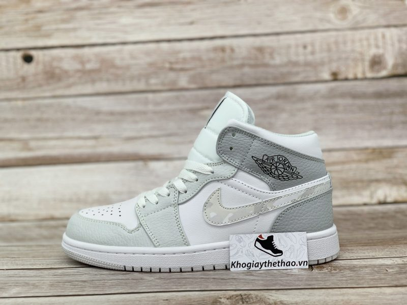 Giày Nike Air Jordan 1 Mid Camo rep