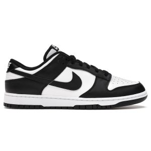 Giày Nike Dunk Low Retro White Black replica
