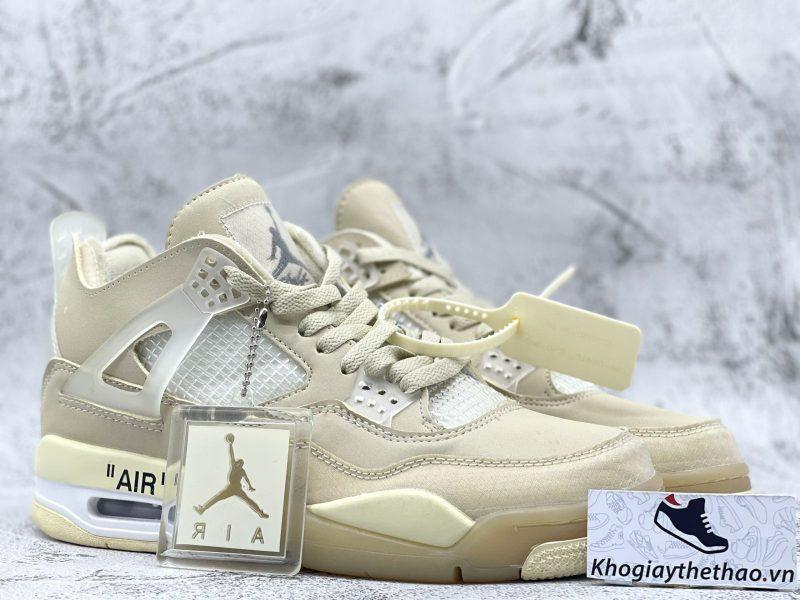 Giày Nike Air Jordan 4 Retro Off White Sail