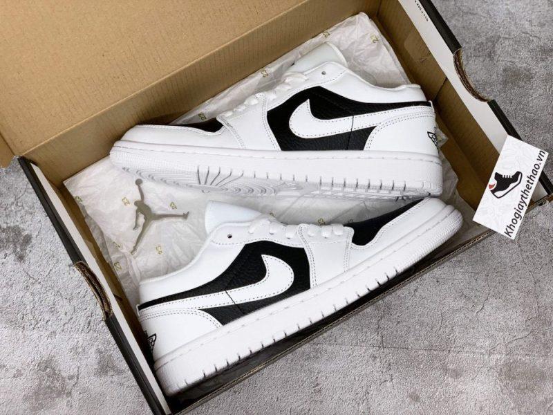 hộp box giày nike jordan 1 low panda