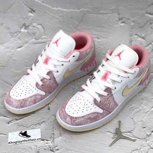Giày Nike Air Jordan 1 Low Hồng