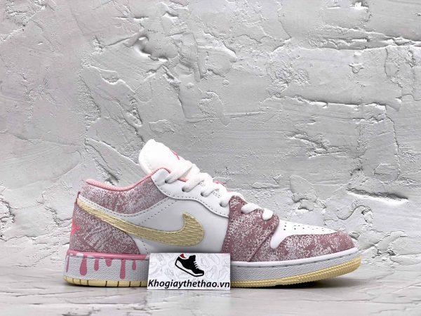 Giày Nike Air Jordan 1 Low Paint Drip