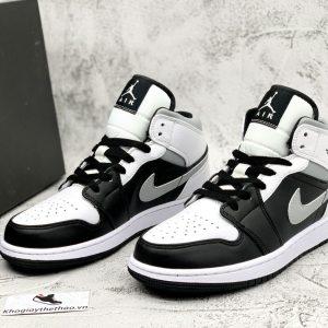 Nike Air Jordan 1 Mid White Shadow