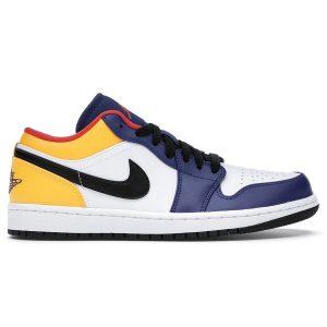 Jordan 1 Low Royal Yellow
