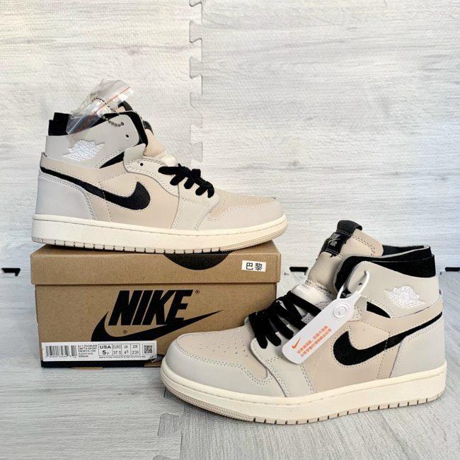 Giày Nike Jordan 1 High Zoom Air CMFT Summit White Black