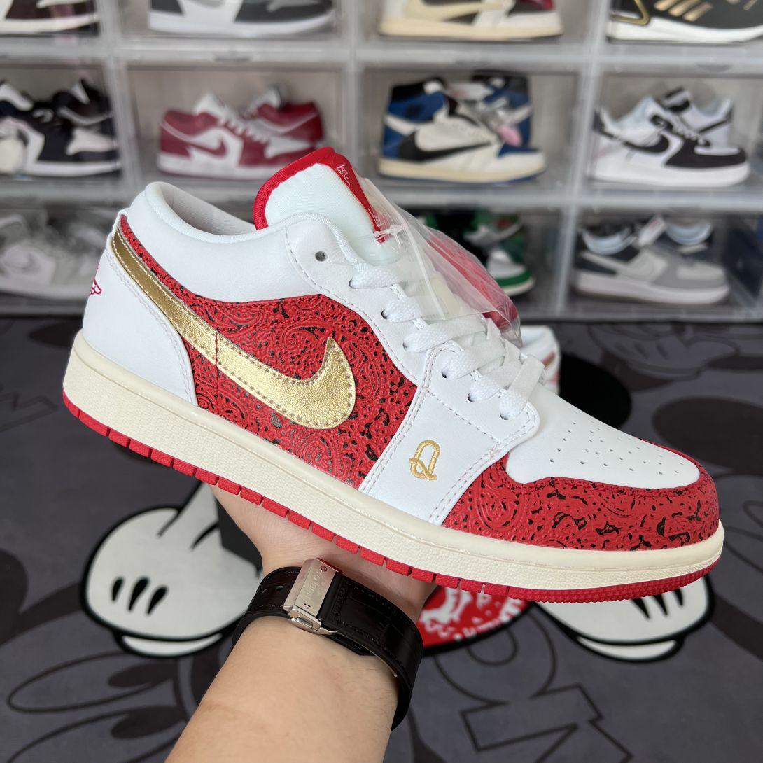 Giày Nike Air Jordan 1 Low Spades