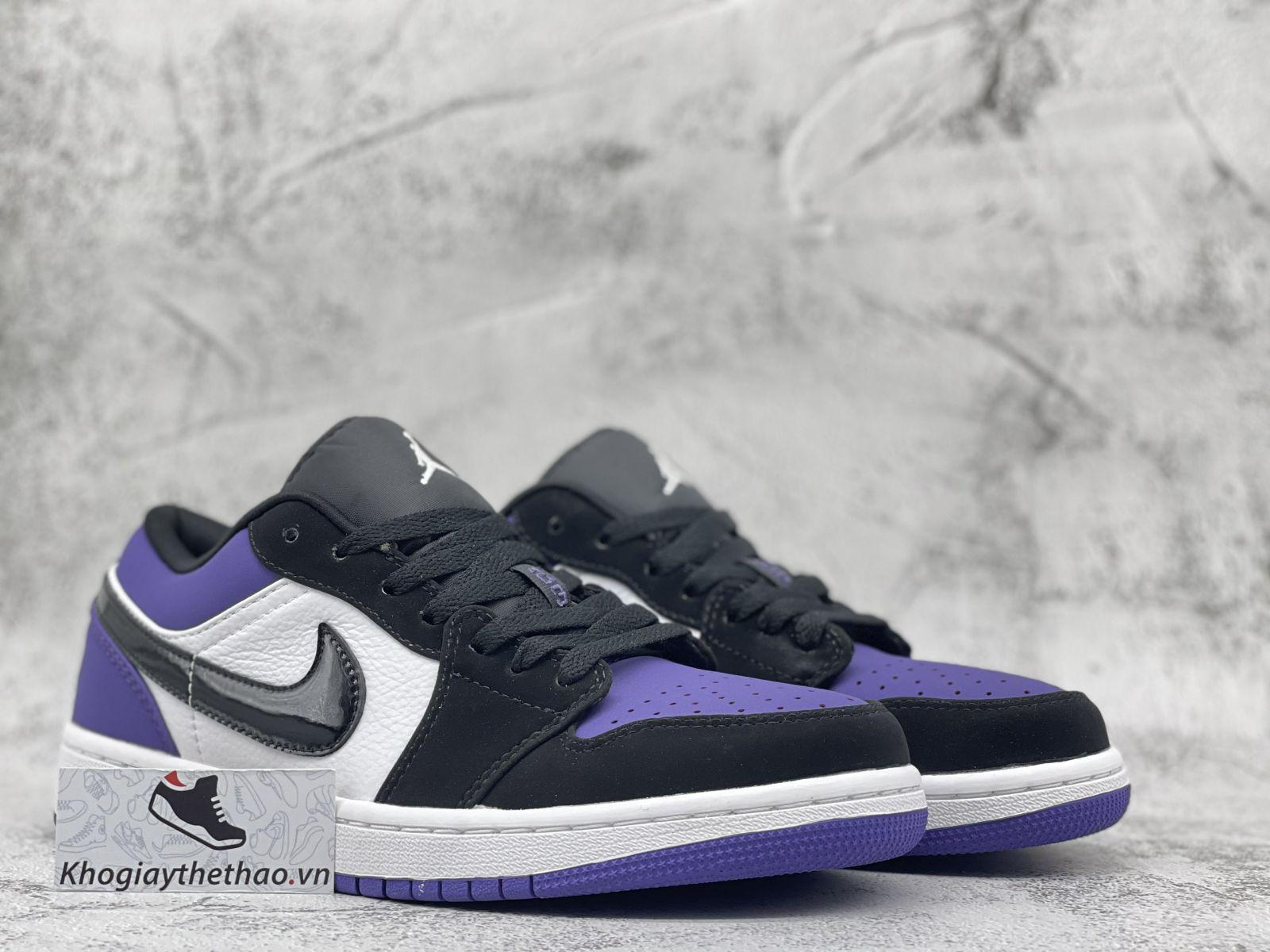 Giày Nike Air Jordan 1 Low Court Purple