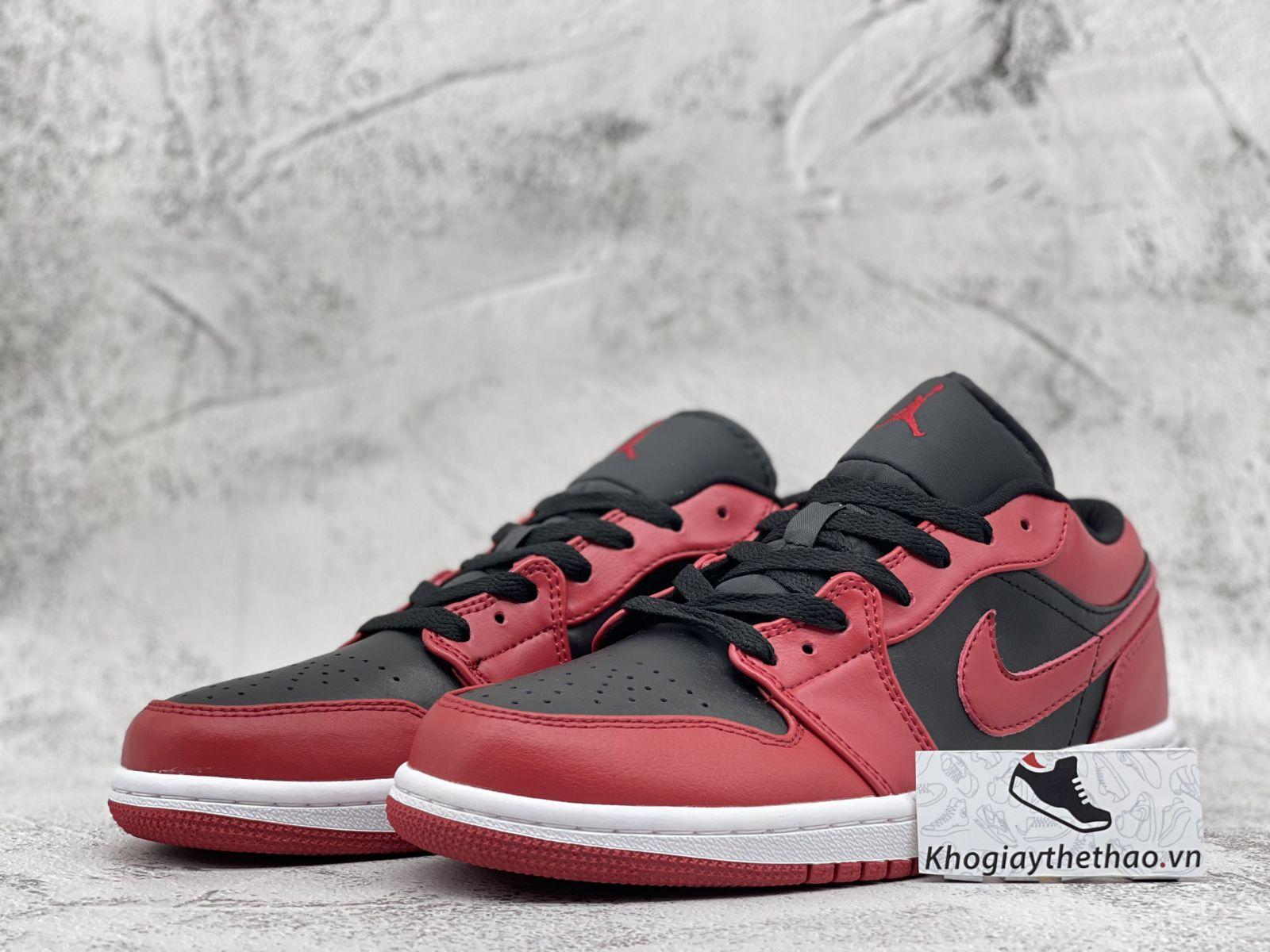 Giày Nike Air Jordan 1 Low Reverse Bred Rep 11