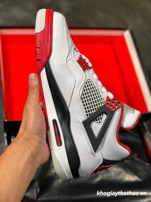 Giày Nike Air Jordan 4 Fire Red Like Auth