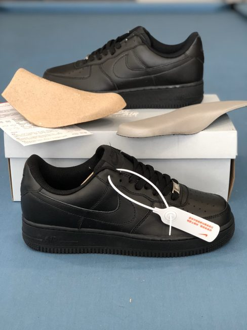 Nike Air Force 1 All Black replica