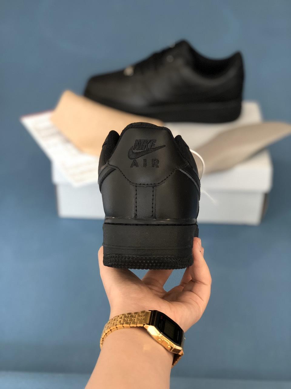 Nike Air Force 1 All Black rep