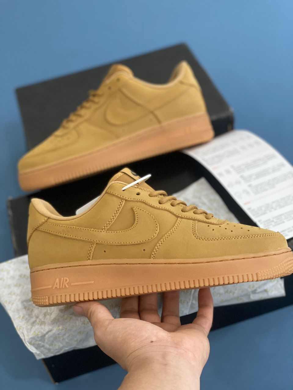 Nike Air Force 1 Low Flax Rep