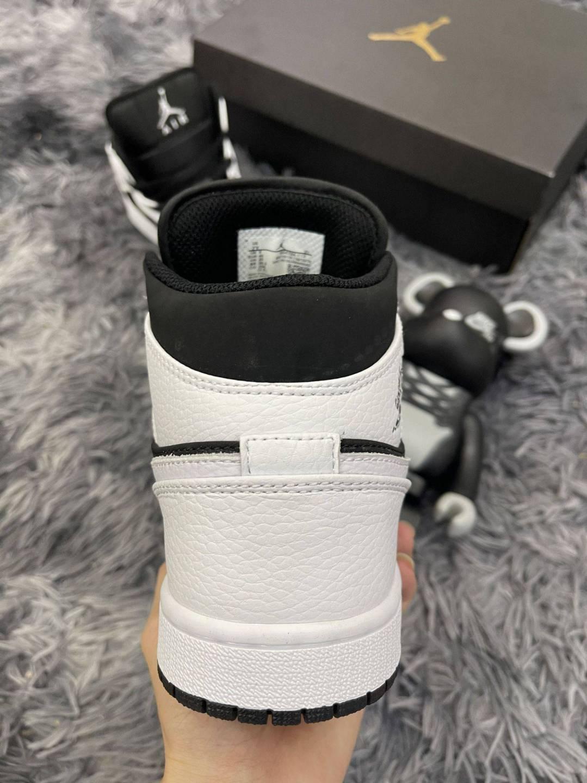 Nike Air Jordan 1 Mid Tuxedo White Black rep