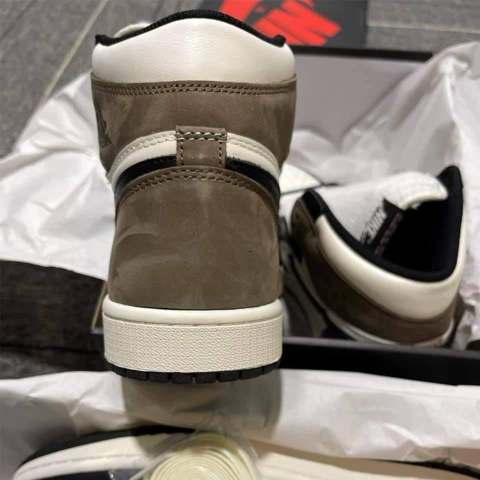 Giày Nike Air Jordan 1 Retro High Dark Mocha Like Auth