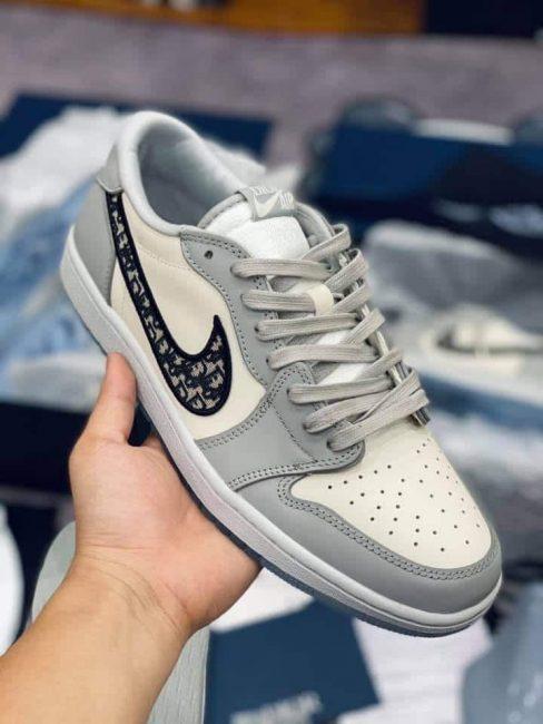 Nike Air Jordan 1 Retro Low Dior Like Auth