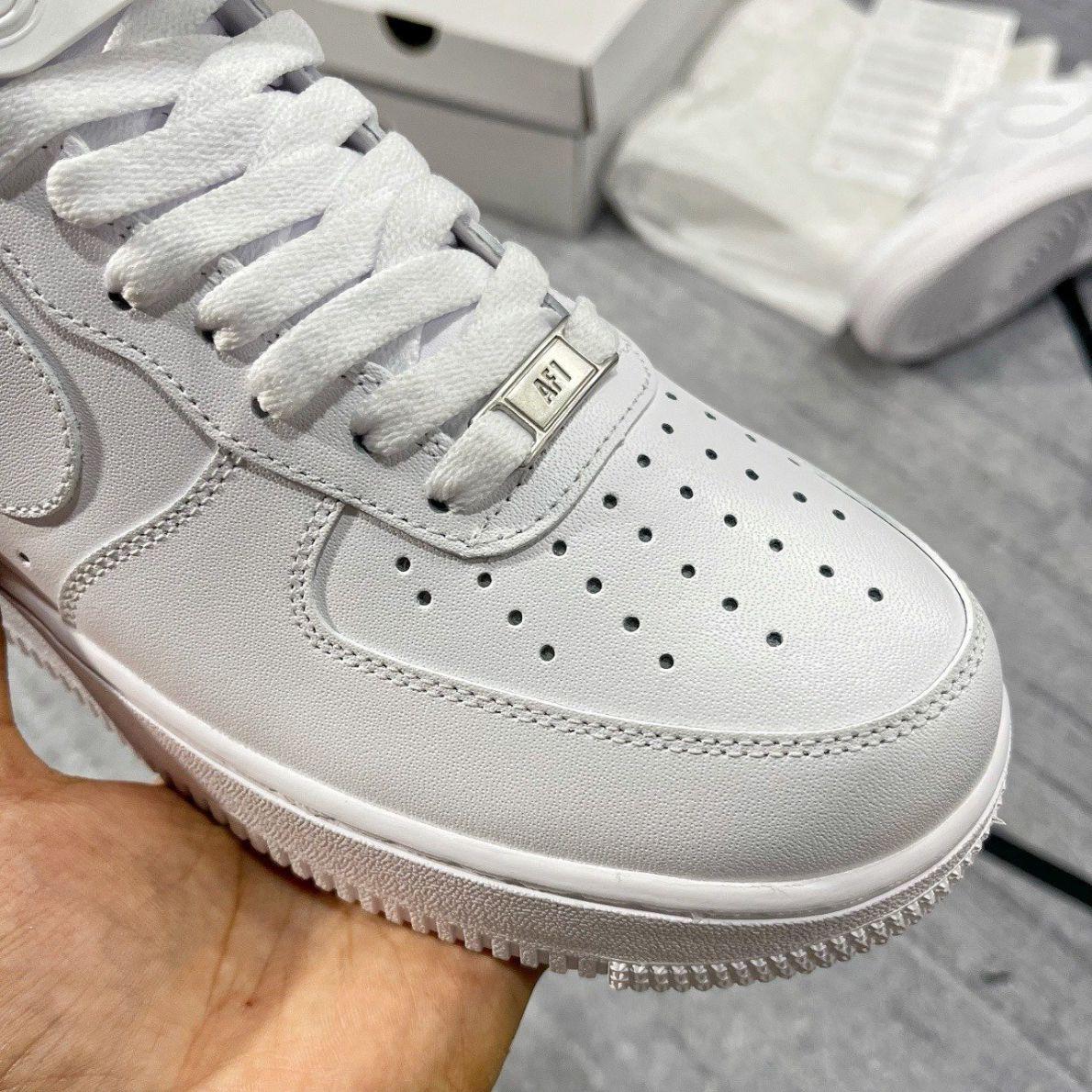 Nike Air Force 1 full white like auth