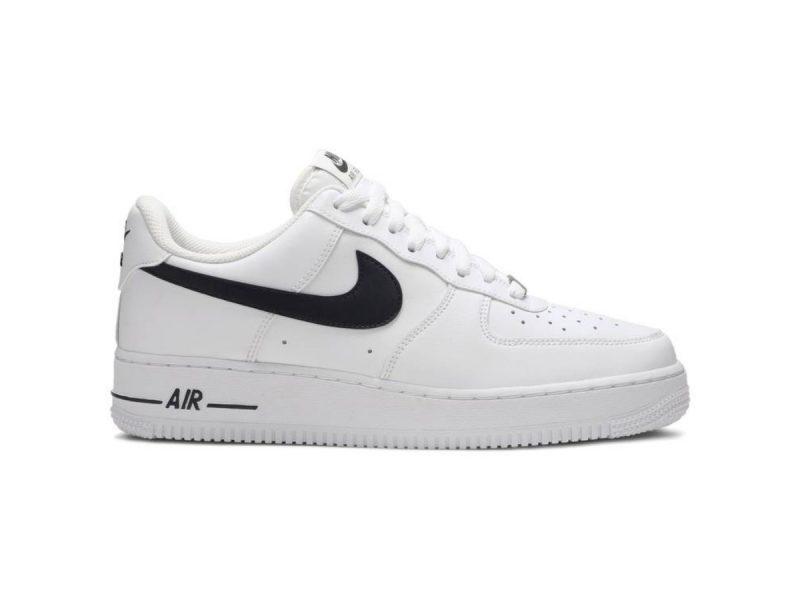 Nike Air Force 1 07 AN20 White Black Swoosh