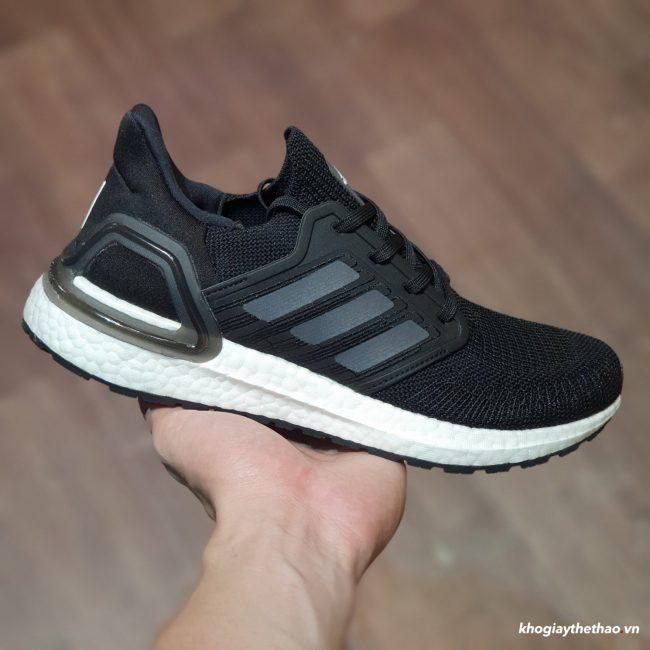 Adidas Ultra Boost 2020 Core đen trắng Rep 1:1